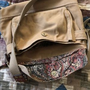 Fossil Bags - Very clean EUC Fossil canvas bag 12 x 12